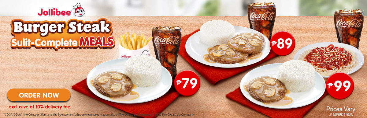 Burger Steak - Jollibee Delivery - Desktop