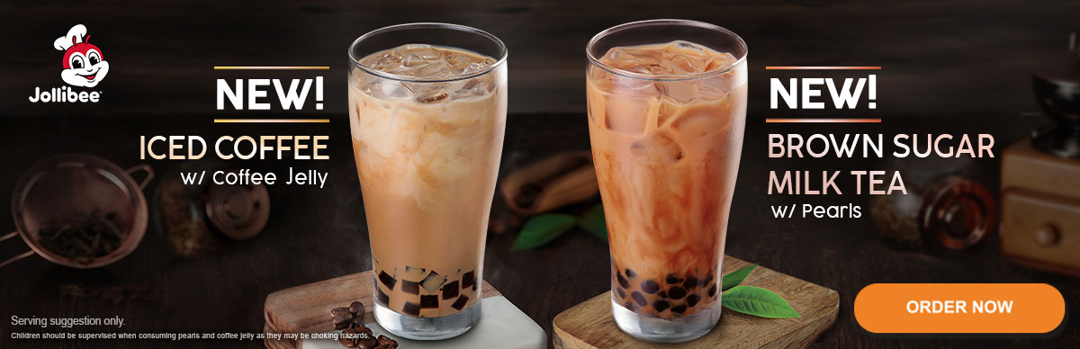 Jollibee Iced Coffee - Jollibee Milk Tea - Jollibee Delivery - Desktop