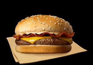 Bacon Cheesy Yumburger Solo