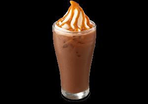 Choco Caramel Float