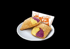 Ube Cheese Pie