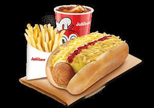 Cheesy Classic Jolly Hotdog