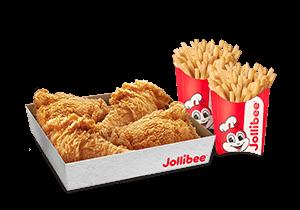 4 - pc. Chickenjoy Family Box w/ Large Fries