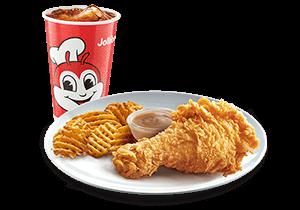 1-pc Chickenjoy w/ Crisscut Fries