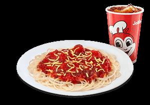 Jolly Spaghetti w/ Drink