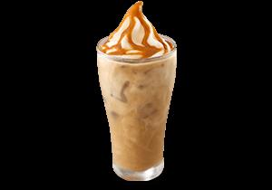 Coffee Caramel Float
