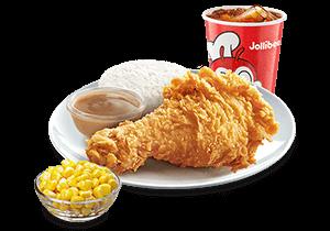 1 - pc. Chickenjoy w/ Buttered Corn