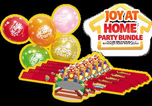 Joy At Home Birthday Set