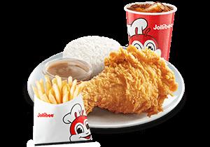 1 - pc. Chickenjoy w/ Fries