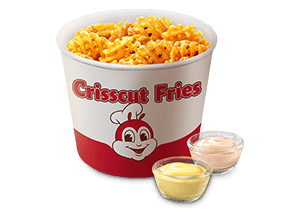 Crisscut Fries Bucket