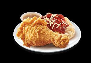 1 - pc. Chickenjoy w/ Jolly Spaghetti Solo
