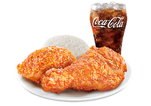 2 - pc. Sweet Chili Chicken with Drink