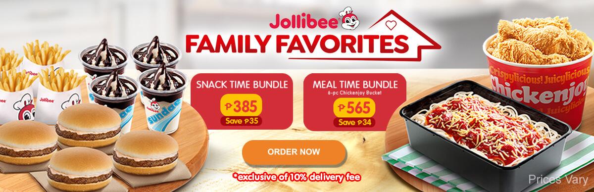 Jollibee Family Favorites - Jollibee Delivery - Desktop