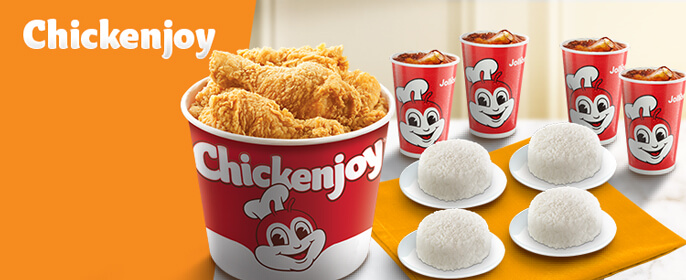 Chickenjoy - Jollibee Delivery