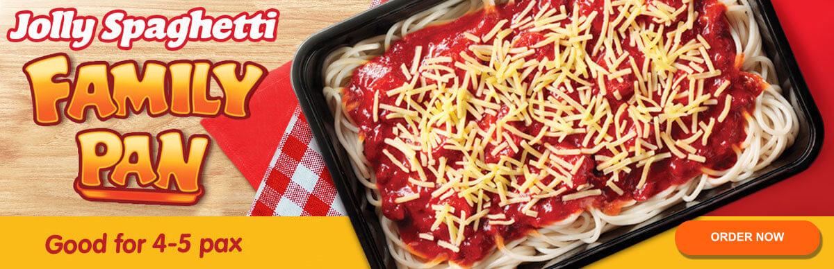 Jollibee Spaghetti Family Pan - Jollibee Delivery - Desktop
